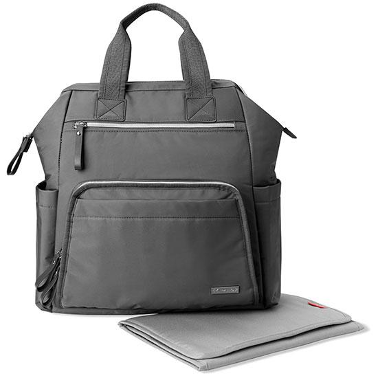Skip Hop - Mainframe Diaper Backpack - Charcoal