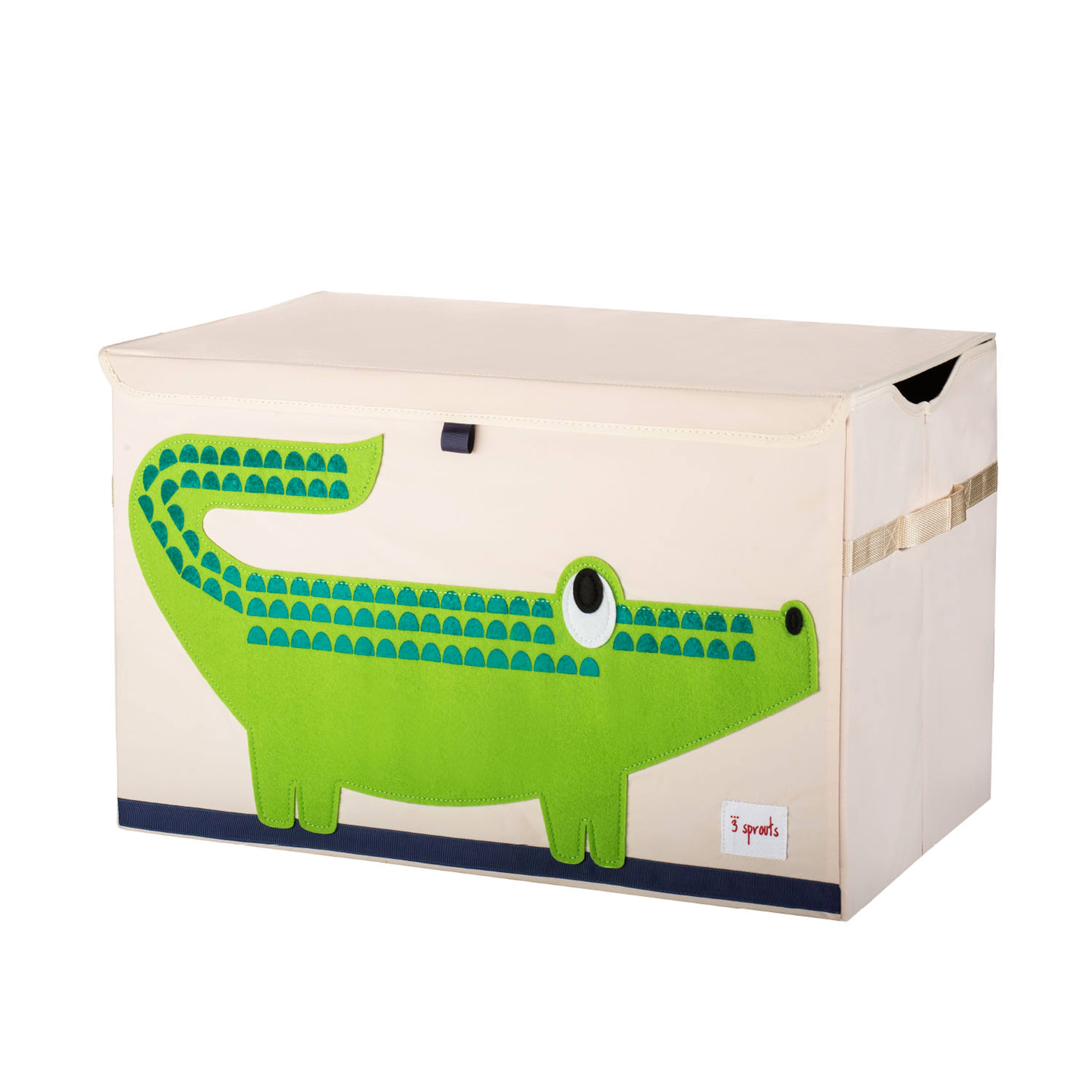 3 Sprouts - Toy Chest - Green Crocodile