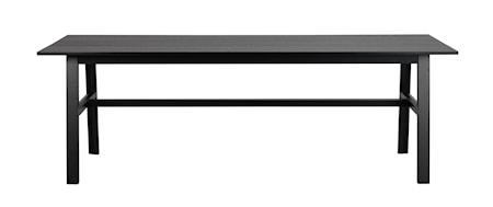 Hudson Matbord Svart 230 cm