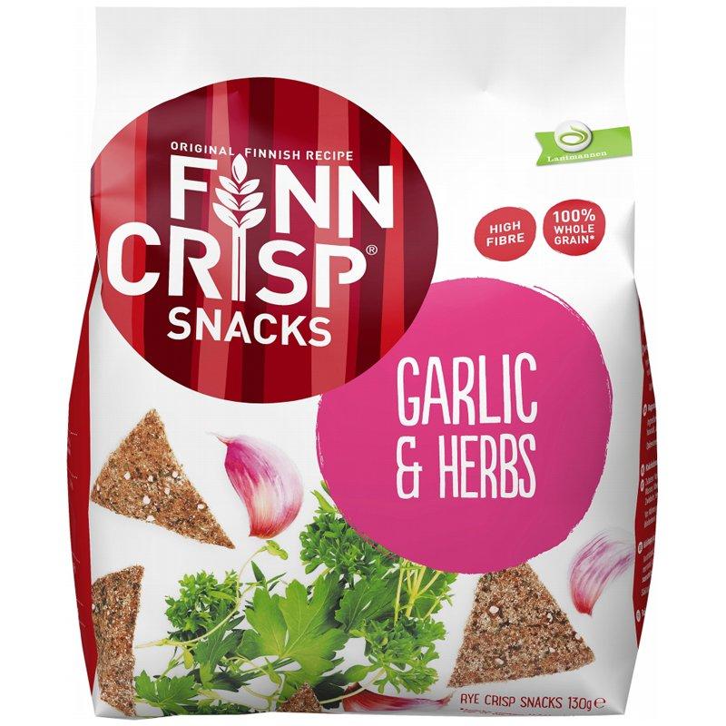 Rågchips Garlic & Herbs - 37% rabatt