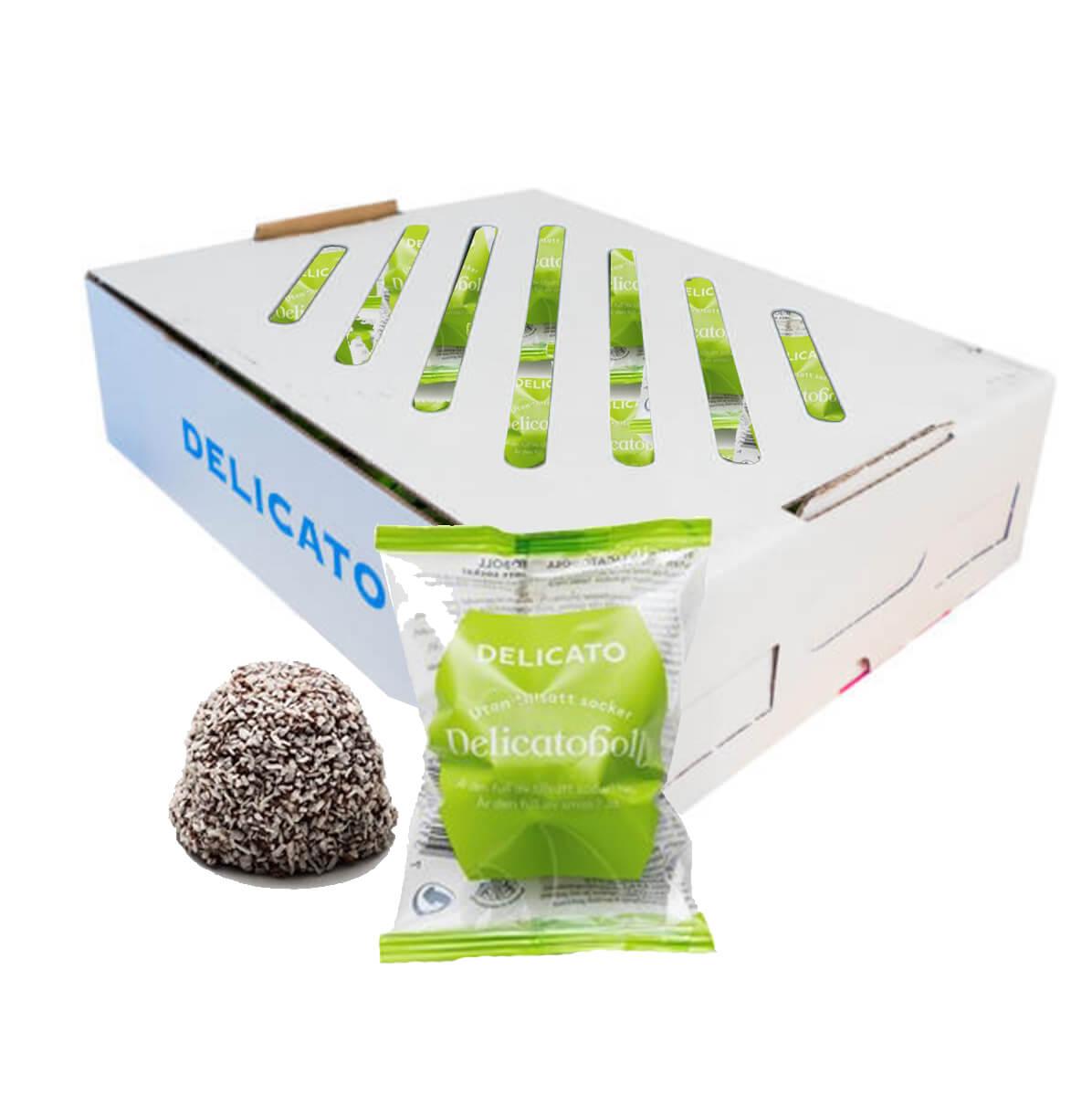 Delicatoboll Utan tillsatt socker 50 st