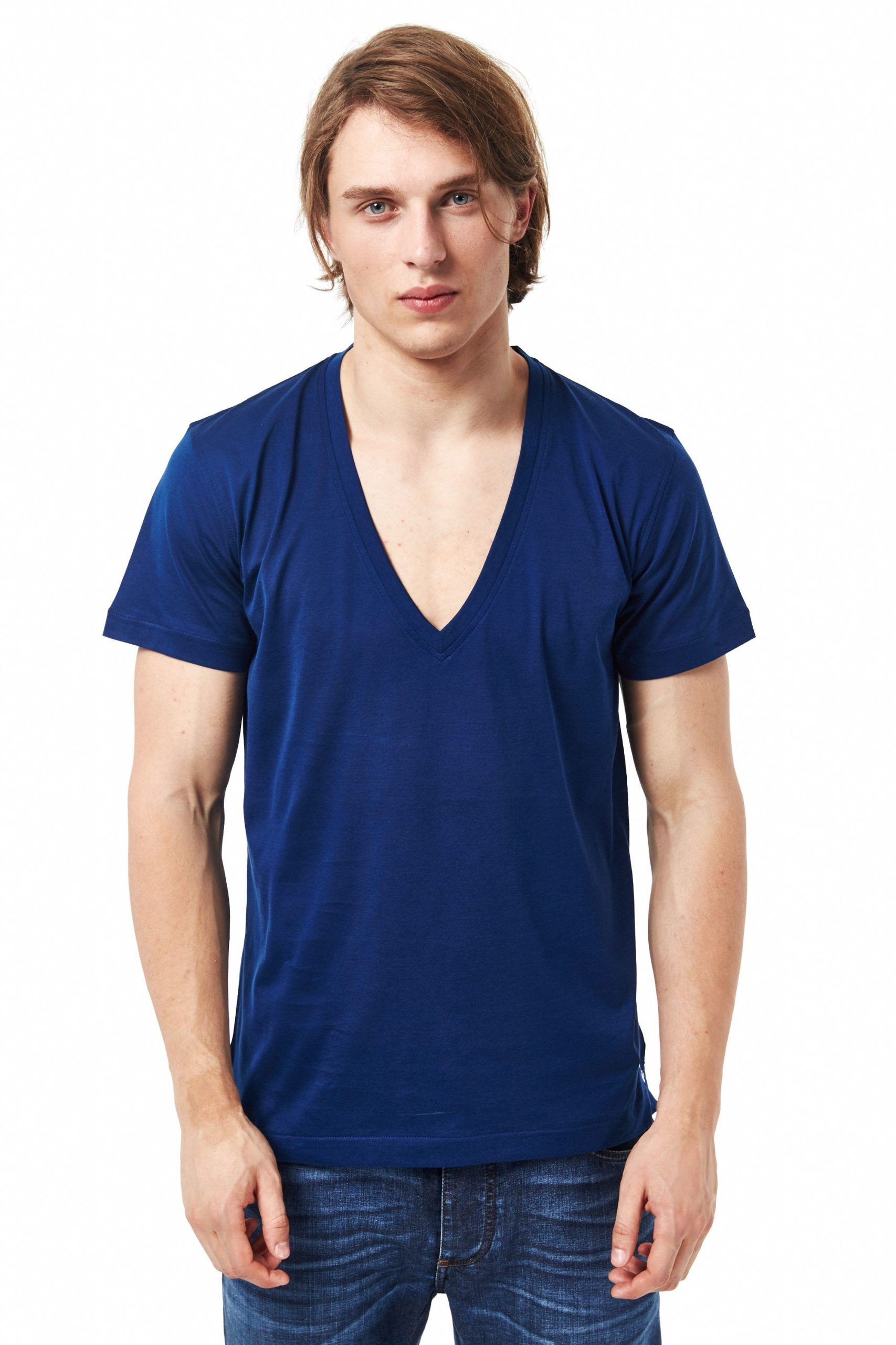 Billionaire Italian Couture Men's T-Shirt Blue BI680205 - XXL