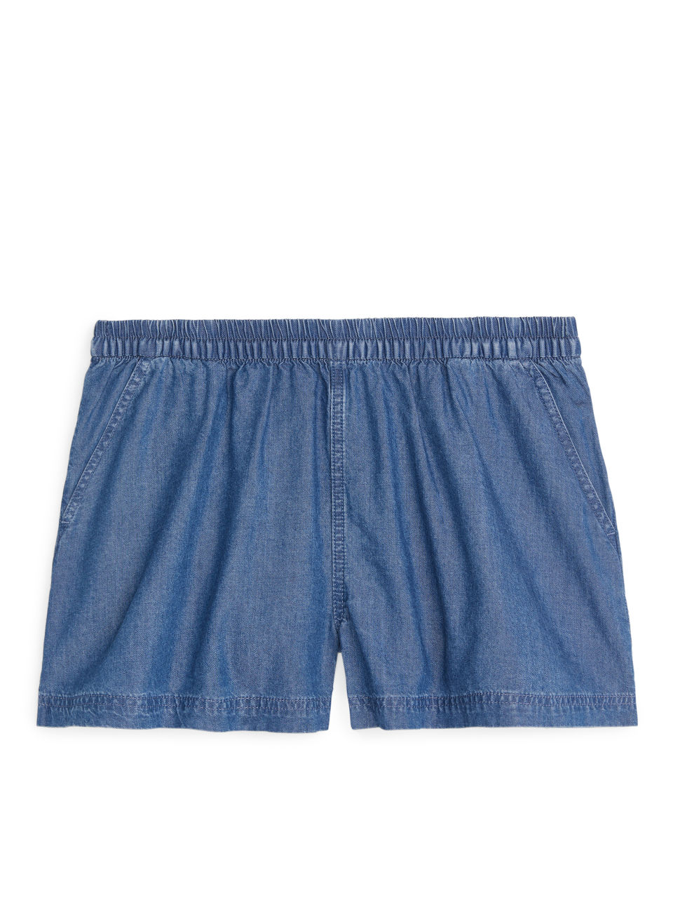 Pull-On Shorts - Blue