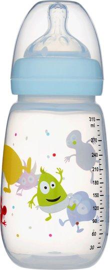 2B Baby Tåteflaske Babblarna 310 ml, Blå