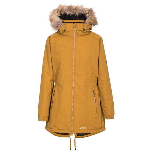 Trespass Women's Waterproof Padded Coat Various Colours Celebrity - Golden Brown XS