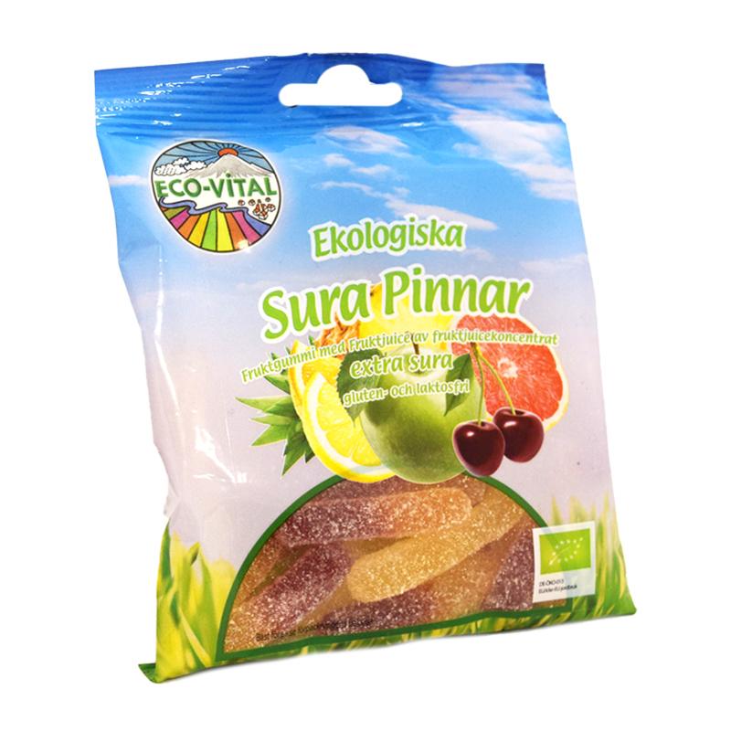 Godisblandning Sura Pinnar 90g - 32% rabatt