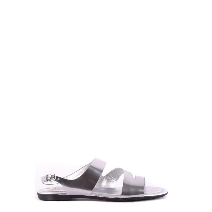 Tod`s Women's Sandal Silver 162489 - silver 35