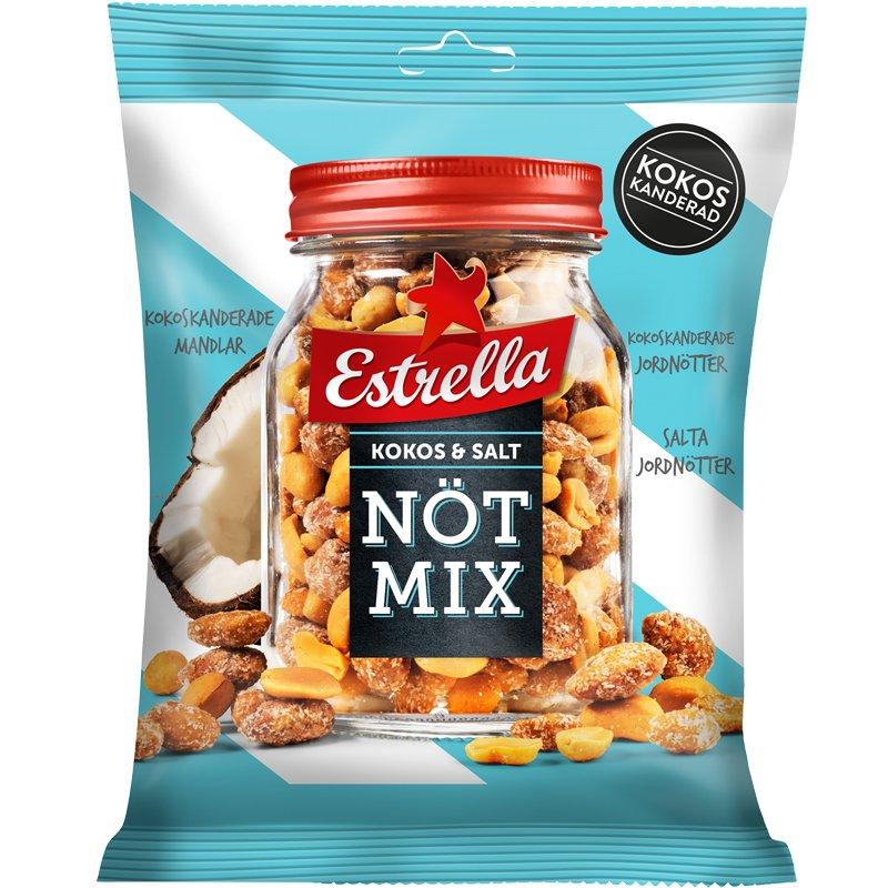 Nötmix Kokos & Salt - 43% rabatt