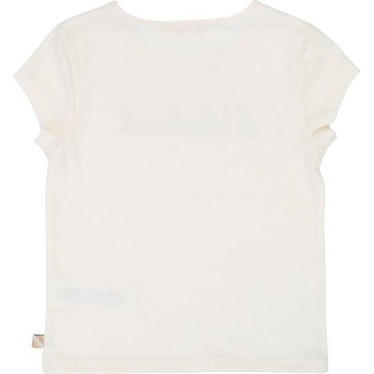 Billieblush T-Shirt, Ivory 4år