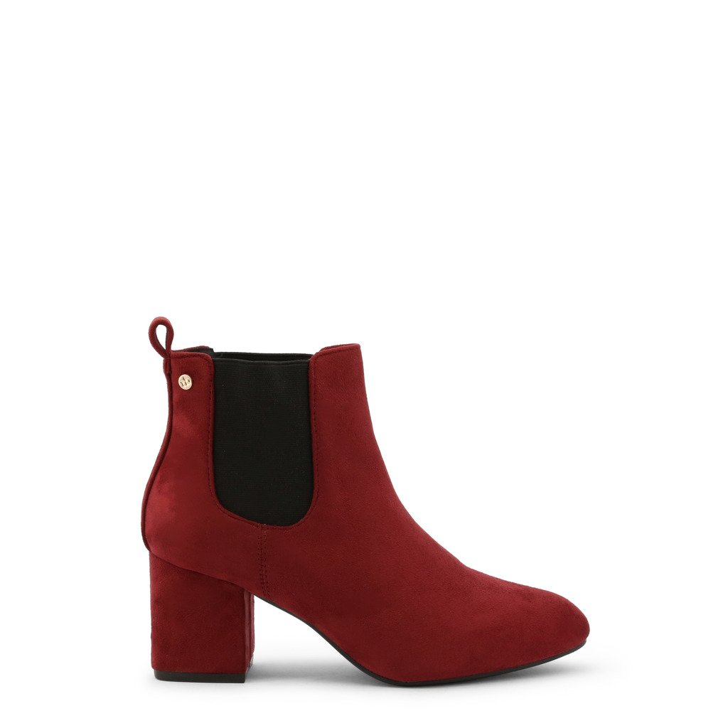 Roccobarocco Women's Ankle Boot Red RBSC1LH02 - red EU 38
