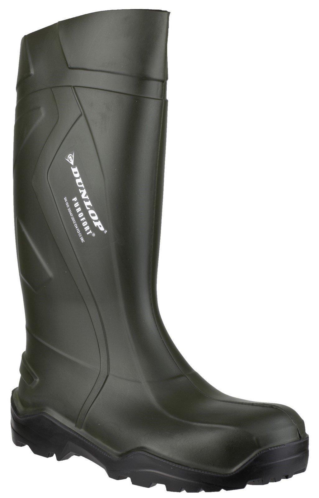 Dunlop Women's Purofort+ Wellington Boot Green 20224 - Green 3