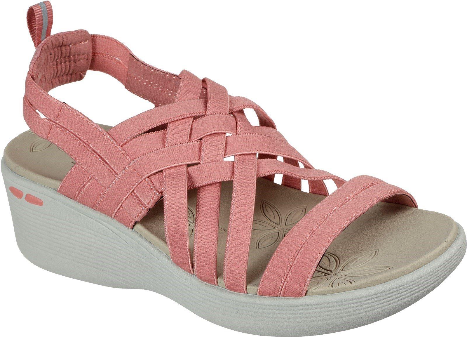 Skechers Women's Pier-Lite Summer Sandal Various Colours 32177 - Coral 3