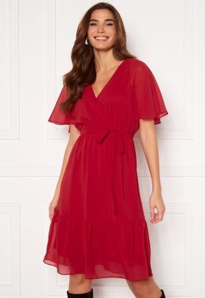 Happy Holly Linnea midi dress Red 44/46