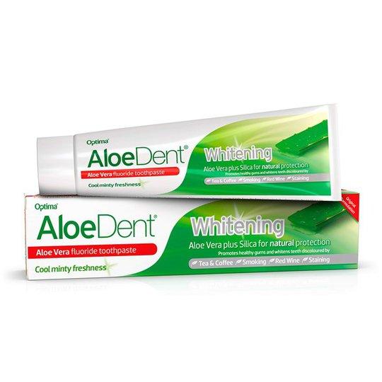 AloeDent Aloe Vera Whitening Fluoride Toothpaste, 100 ml