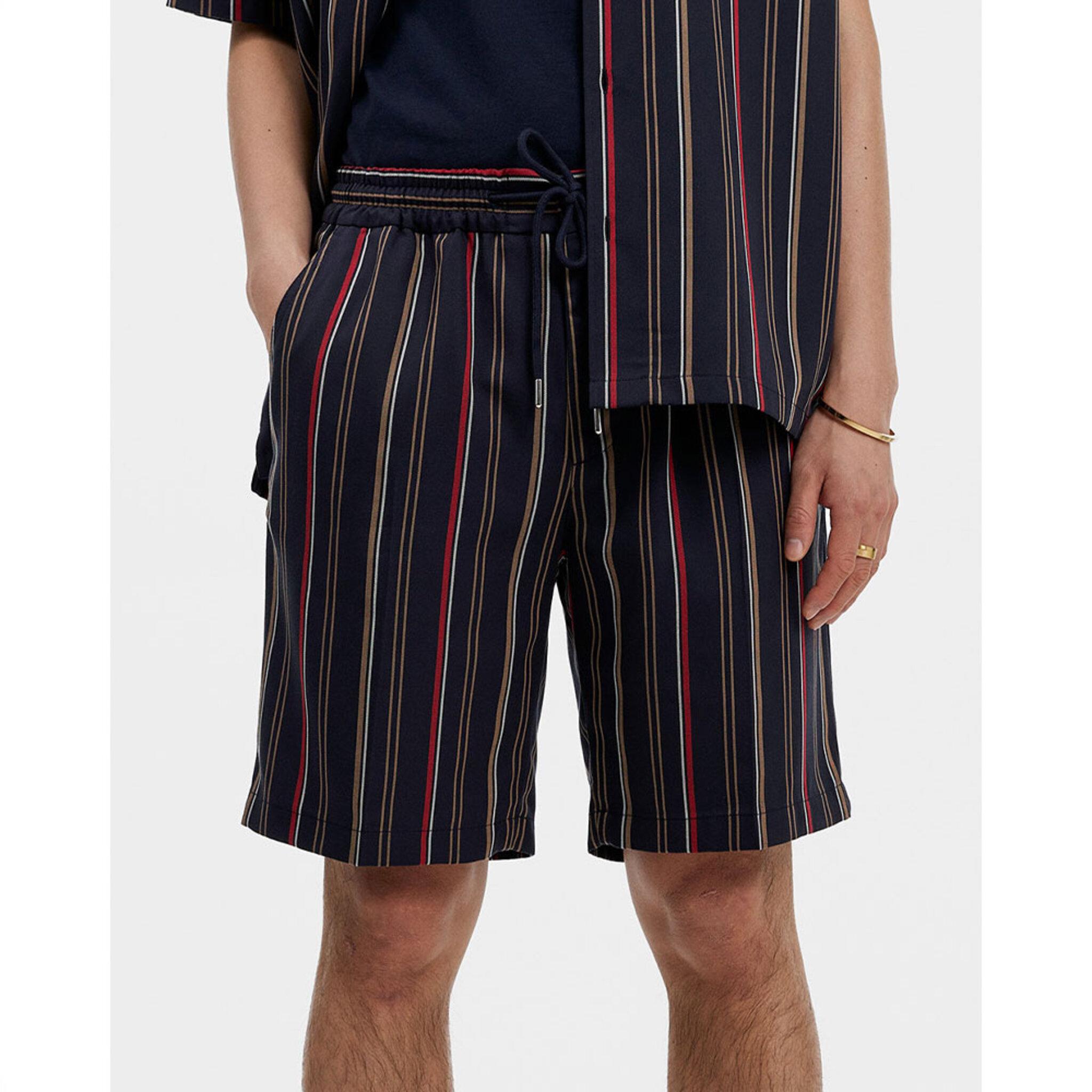Earl Striped Resort Shorts