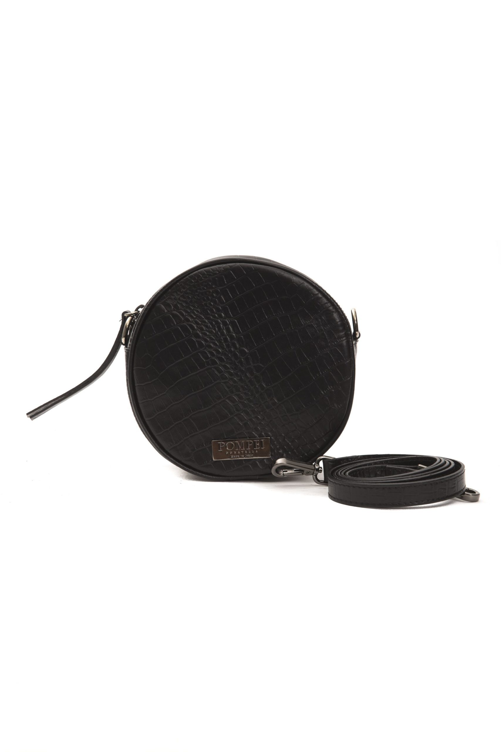 Pompei Donatella Women's Nero Crossbody Bag Black PO1004371