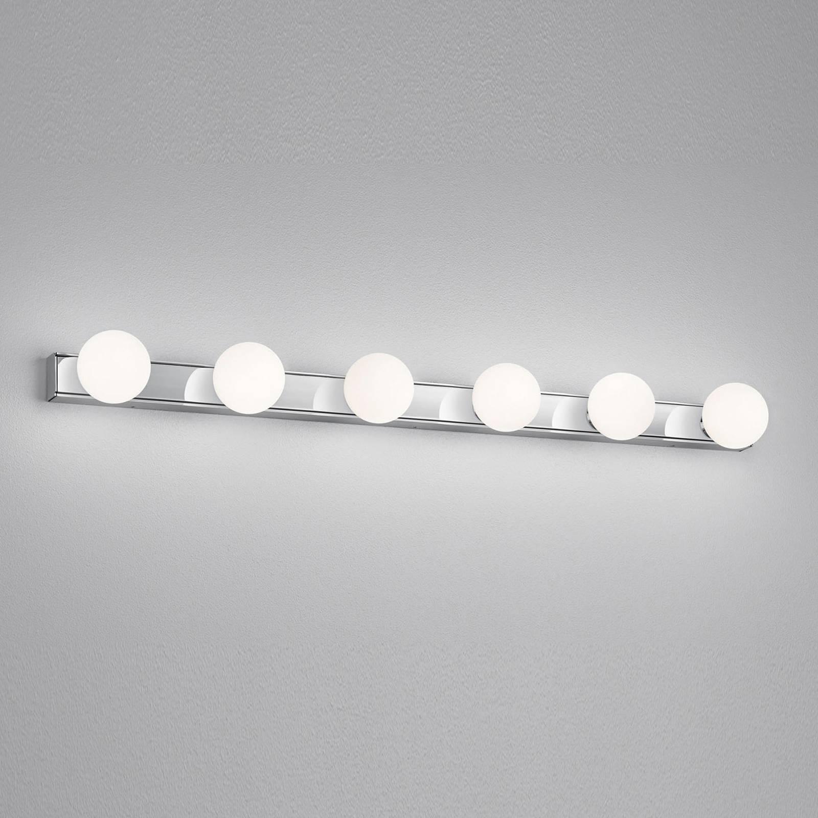 Helestra Lis -LED-peililamppu, 6-lamppuinen