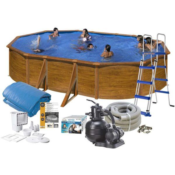 Swim & Fun 2712 Allaspaketti 5 x 3 x 1,2 m, 14,550 l