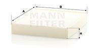Raitisilmasuodatin MANN-FILTER CU 28 009