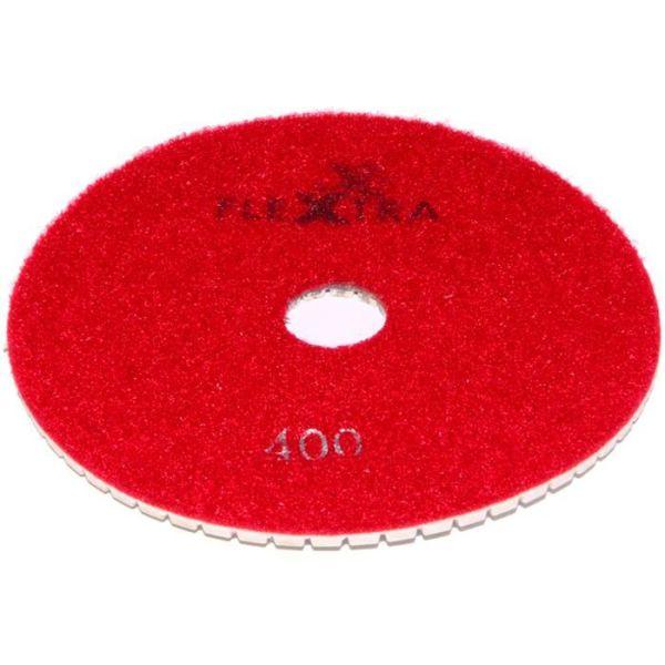 Flexxtra 100.248 Diamantslipeskive 125 x 4 mm, våt/tørr Grit 400