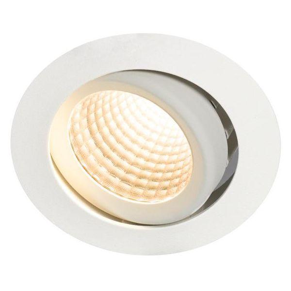 Hide-a-Lite Optic XL Downlight-valaisin 15W, kallistus, Dali-liitäntälaite 2700K