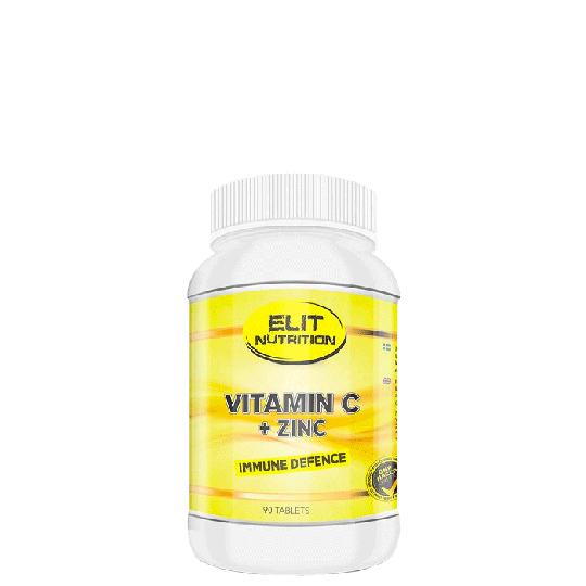 Vitamin C + Zinc, 90 caps