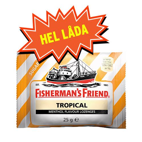FISHERMANS FRIEND TROPICAL GUL/ VIT - 24