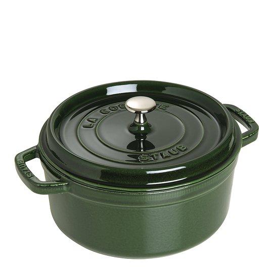 Staub - Gryta 5,2 L rund Grön