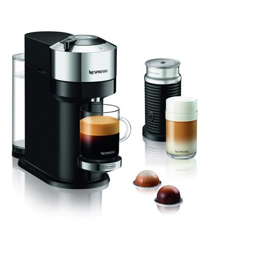 Nespresso Vertuo Next Delux Co-pack Kapselmaskin - Svart/silver
