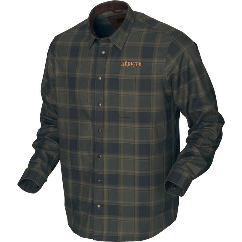 Härkila Metso Active skjorte XXL Klassisk jaktskjorte, Willow Green Check