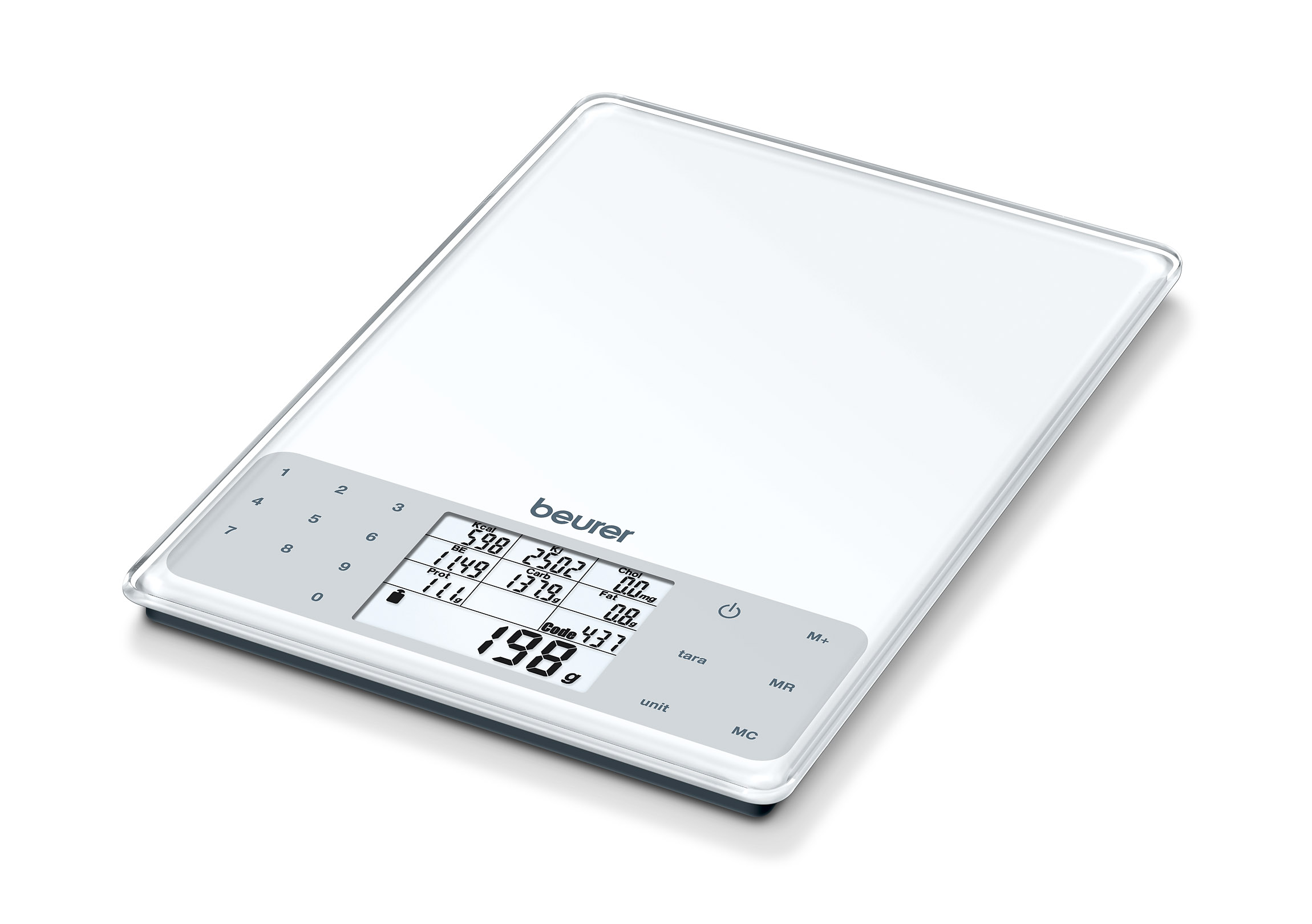Beurer - DS 61 Nutritional Analysis Scale - 5 Years Warranty