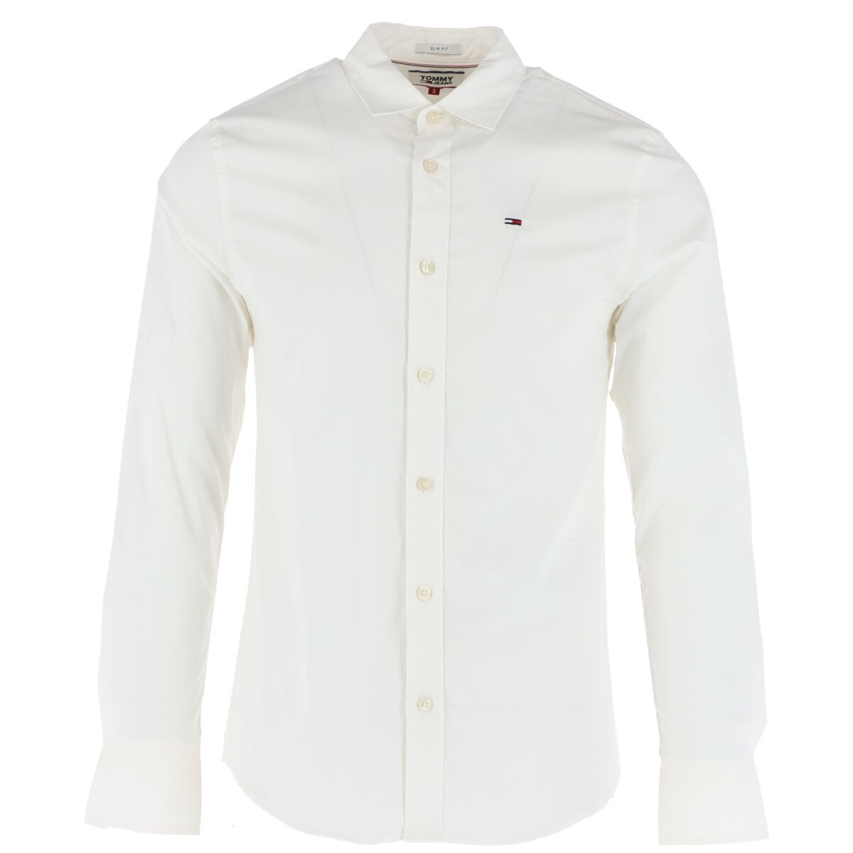 Tommy Hilfiger Jeans Men's Shirt White 273505 - white XS