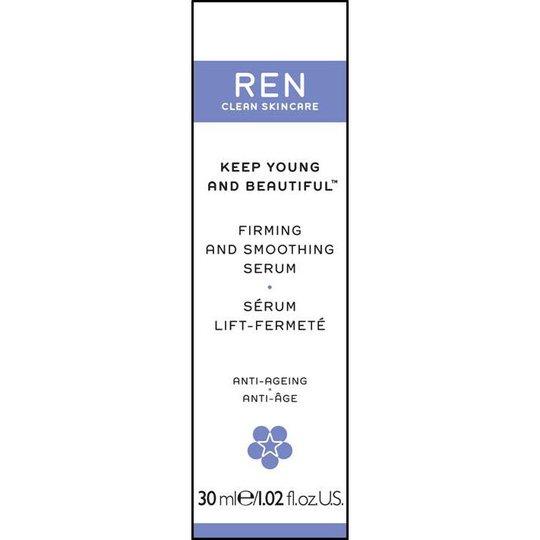Keep Young & Beautiful Firming & Smoothing Serum, 30 ml REN Seerumit & Öljyt