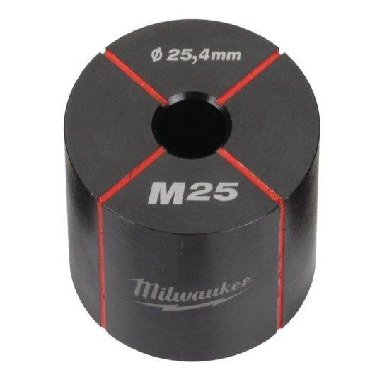 Milwaukee 4932430916 Matriisin pidin ruostumattomalle ja pehmeälle teräkselle M25