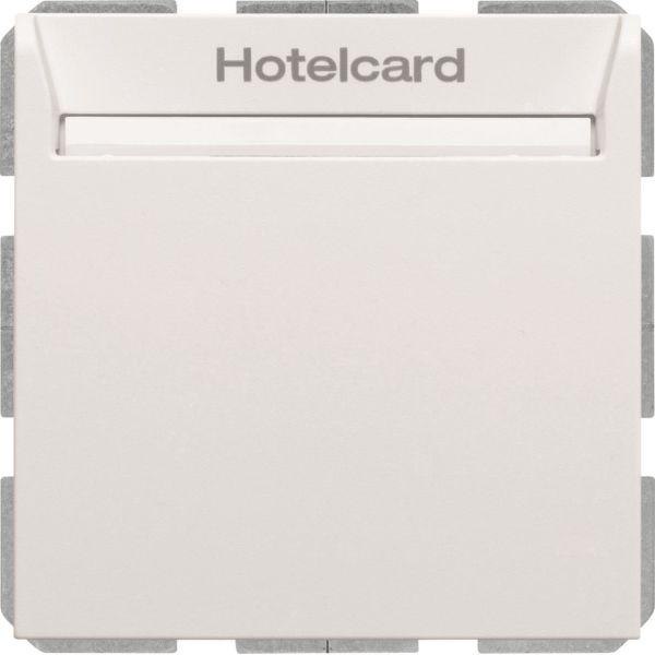 Hager 16409909 Hotellikorttikytkin S.1 valkoinen
