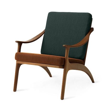 Lean Back Lounge Chair Spicy brown/Petrol Teak