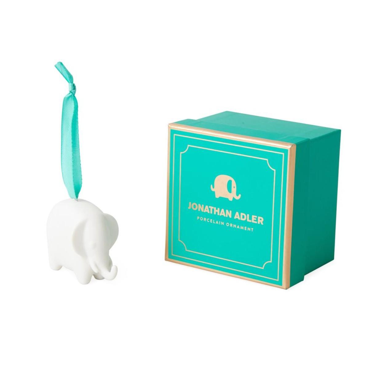 Jonathan Adler I Elephant Ornament