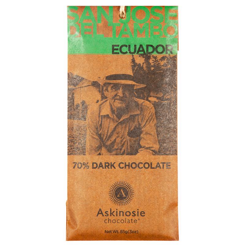 "Mörk Choklad 70% ""Ecuador"" - 76% rabatt"