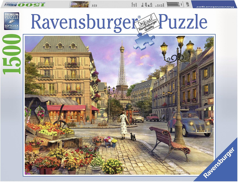 Ravensburger Pussel Vintage Paris 1500 Bitar