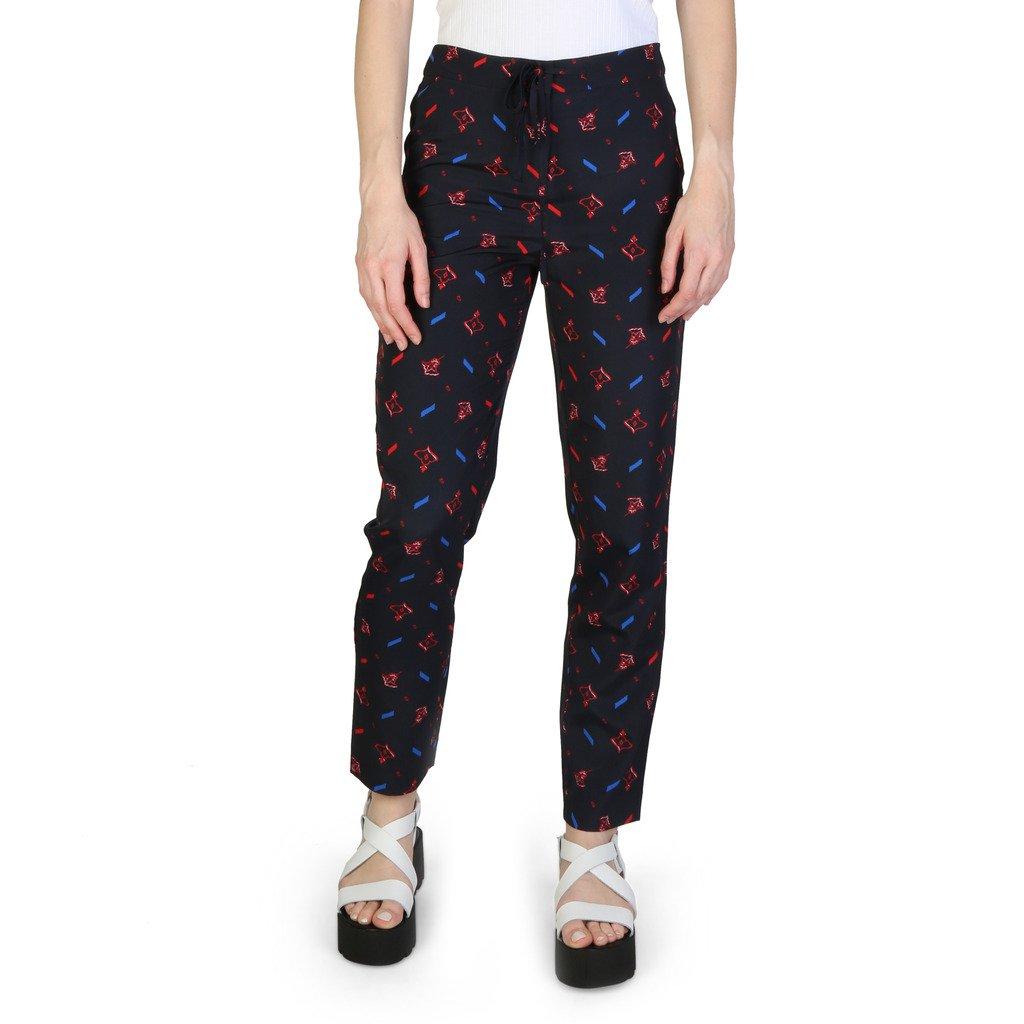 Armani Exchange Women's Trousers Blue 3ZYP25YNBSZ - blue 4 UK