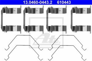 Tarvikesarja, jarrupala, Etuakseli, FORD USA PROBE II, MAZDA 626 IV, 626 Hatchback IV, MX-6, XEDOS 6