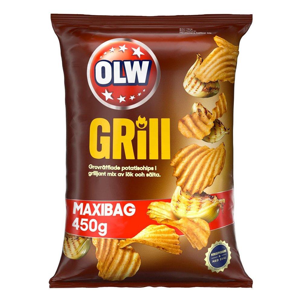 OLW Maxibag Grill - 450 gram