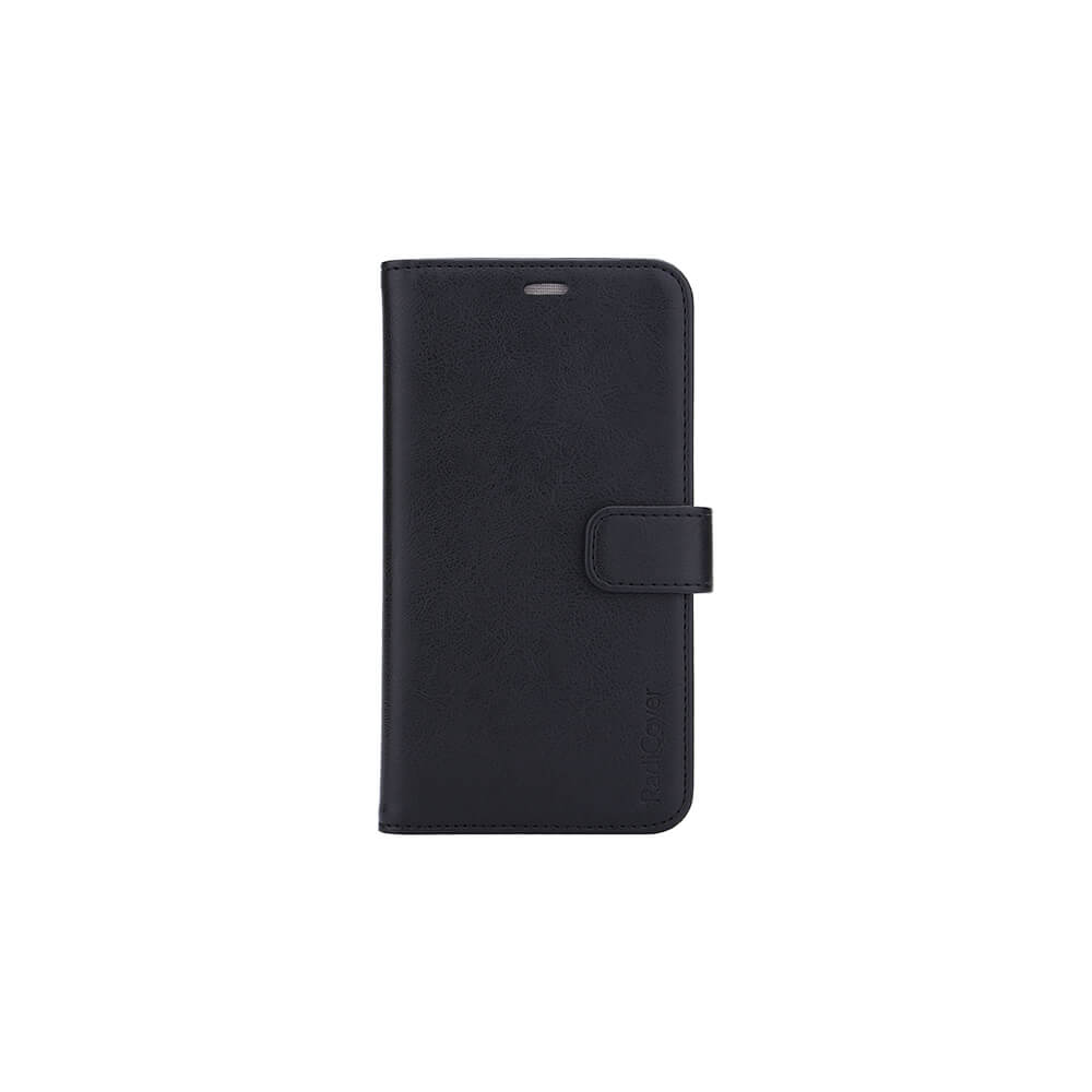 RadiCover - Radiationprotected Wallet PU iPhone 12 Pro Max Flipcover - Black