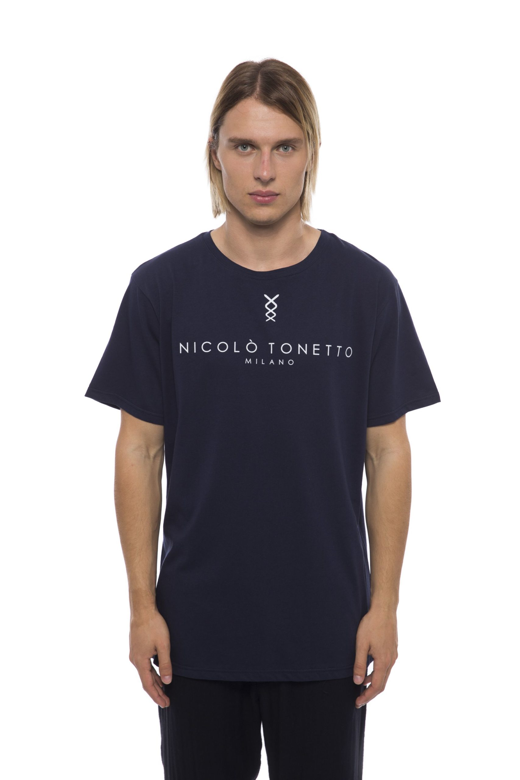Nicolo Tonetto Men's T-Shirt Blue NI681957 - XXL