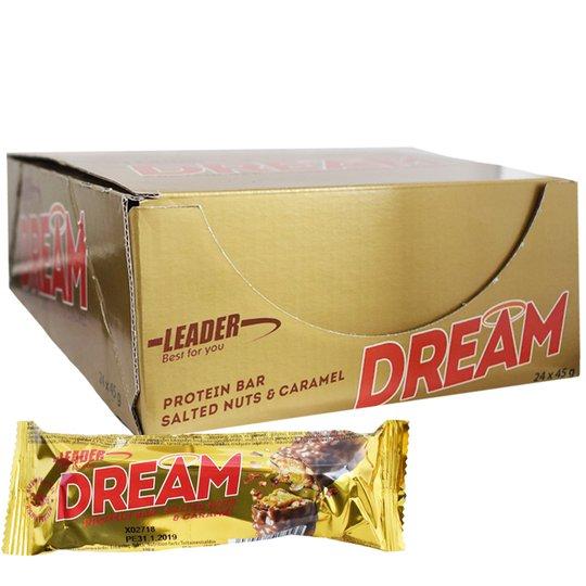 """Laatikollinen """"Dream"""" proteiinipatukoita 24x45g - 50% alennus"""