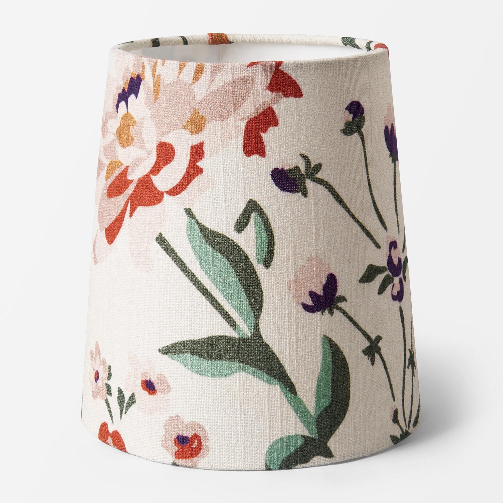 Lampskärm med mönster JANIKE, 16 cm, Dia15cmxH16cm