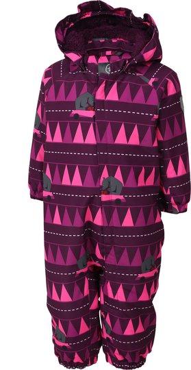 Color Kids Rimah Mini Vinterdress, Pickled Beet 68