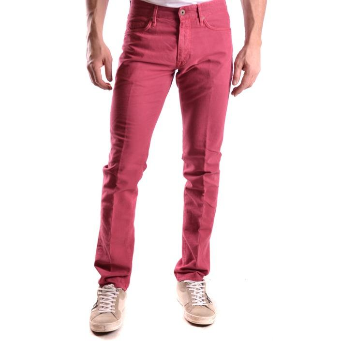 Incotex Men's Trouser Red 184527 - red 30