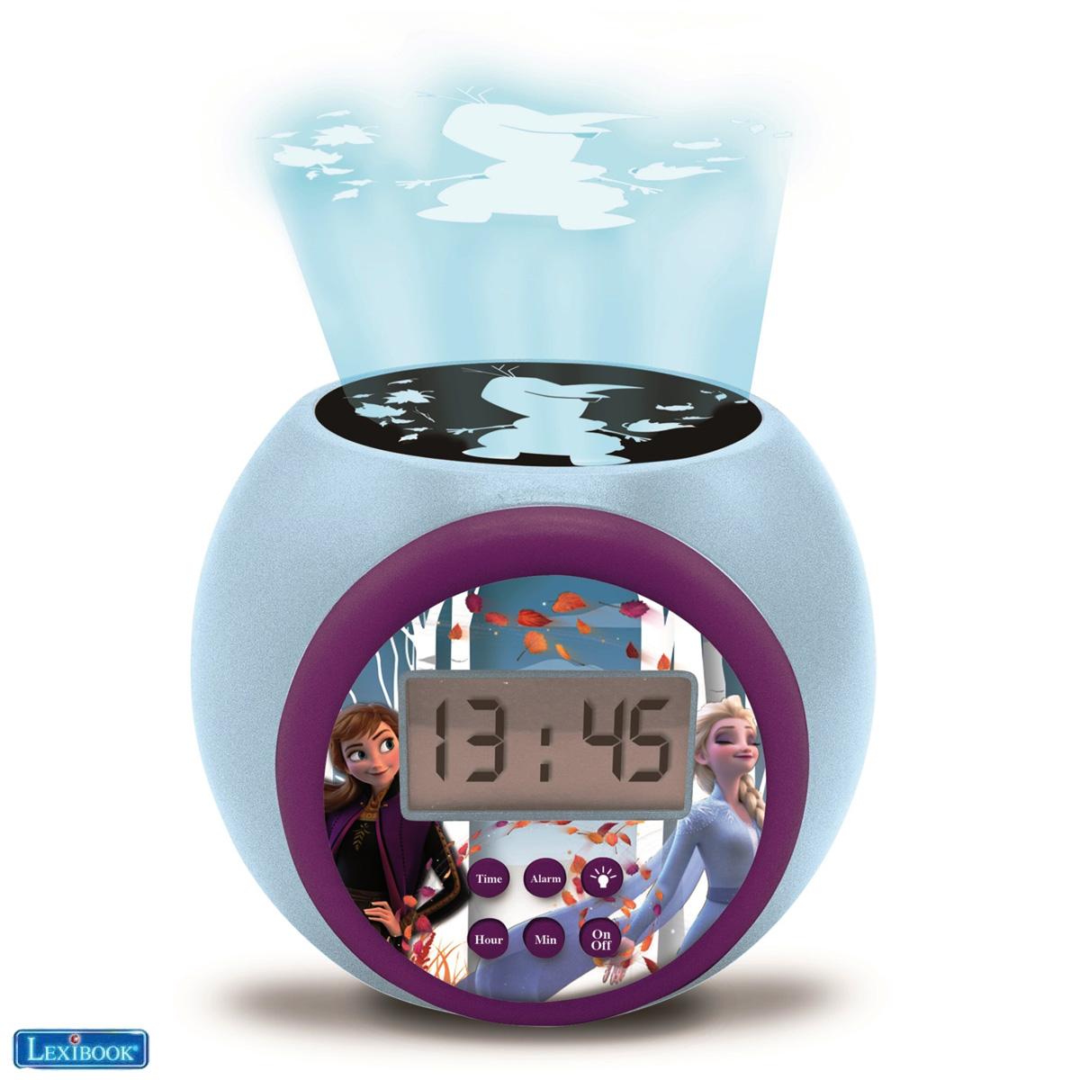 Lexibook - Frozen Projector Alarm Clock with Timer (RL977FZ)