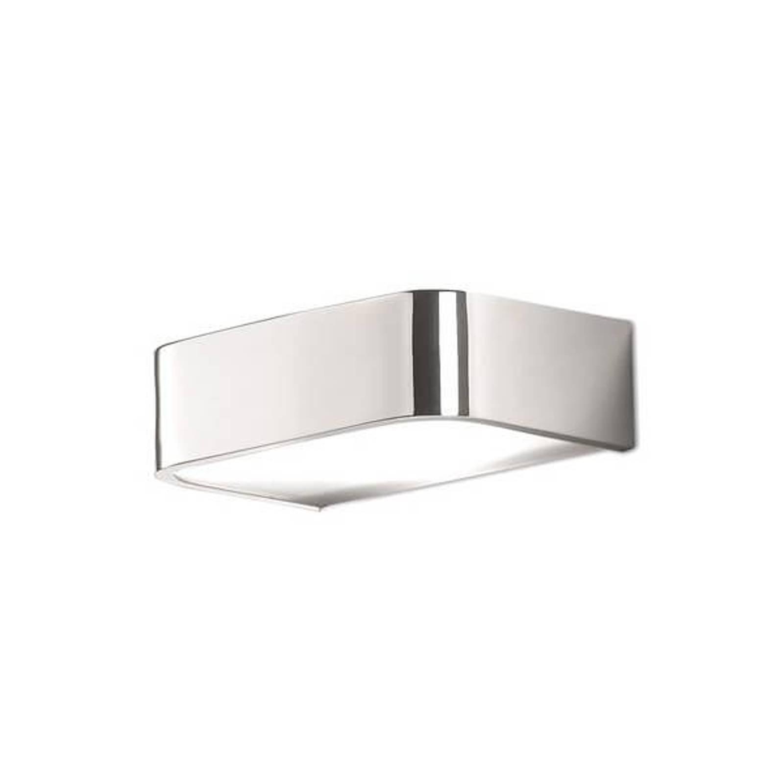 Baderom-vegglampe Arcos med LED, 15 cm krom